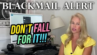 *NEW* Bitcoin Blackmail Email Scam.... They Have a Video of You On Webcam?! (Breaking News)