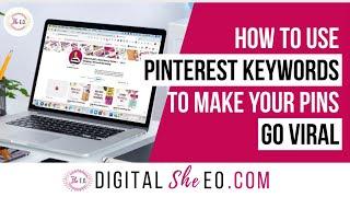 Pinterest Keyword Strategy For Viral Pins