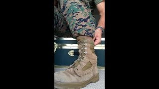 How To Tie Boots + Boot Bands + Lace Boots