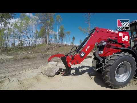 Igland GR 20 tømmerklo  - film på YouTube