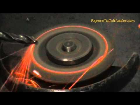 Como afilar una broca para metal con radial