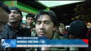 Ahmad Kurniawan 47 Penjaga Gawang Arema Telah Wafat