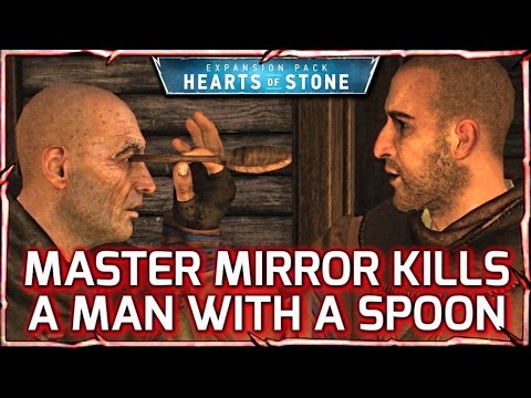 Witcher 3: HEARTS OF STONE ► Master Mirror Kills with a Spoon! (And Stops Time) #26
