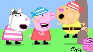 Peppa Pig Official Channel | Pirate Treasure - Play Dress Up with Peppa Pig