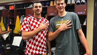 Los Angeles Lakers' Larry Nance Jr. Named Honorary Croatian