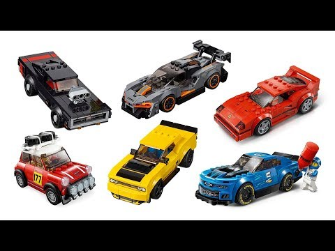 ALL LEGO Speed Champions 2019 sets images