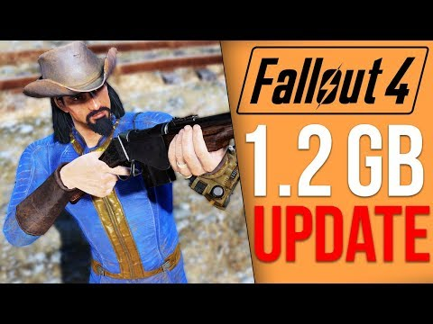 Fallout 4 Got a 1.2 GB Update