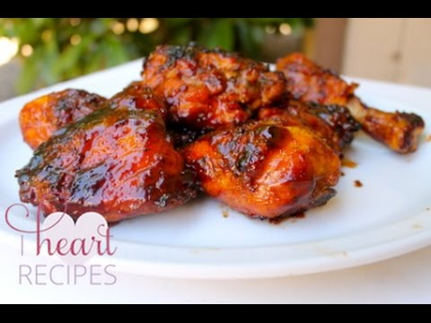 Hickory Smoked Barbecue Chicken Recipe : Made on the grill – I Heart Recipes