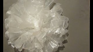 Wax Paper Flower For Gift Topper Craft Tutorial