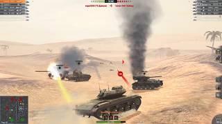 WOT BLITZ Т49 ПТУР нарезка выстрелов