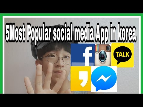 5 Most Popular Social Media App in Korea