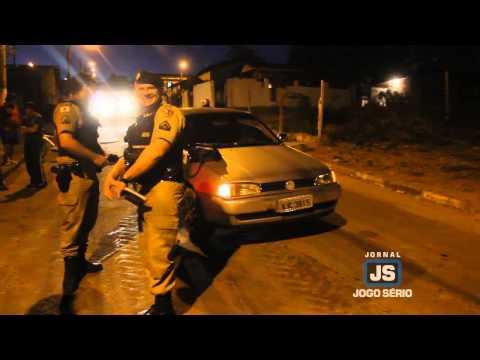 Embriagado, homem bate em automóvel no Jardim Vera Cruz