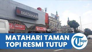 Matahari Taman Topi Bogor Resmi Tutup, Diumumkan dalam Sebuah Poster yang Ditulis di Tembok