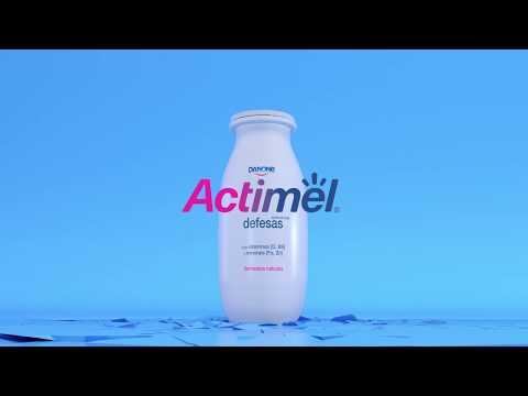 Actimel Iogurte Líquido de Multifrutas Pack 6 embalagem 100 g