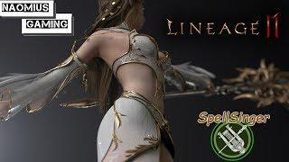 [Lineage 2M] Прокачка SpellSinger'a l Набор в клан Gods активных людей 40+l Сервер Теон 4 - 테온 4 l