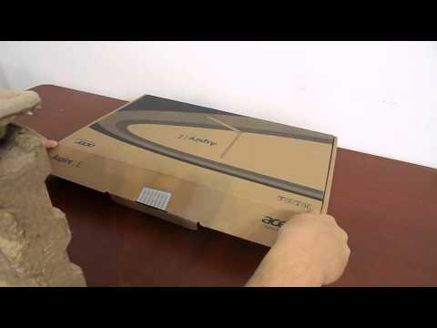 Unboxing ACER e1 510 laptop buget redus