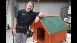Youtube thumbnail for How to assemble a dog kennel