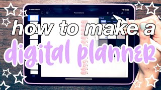 How To Make A Digital Planner  *UPDATED* | Tutorial | IPad Pro