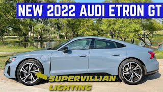 I Took The BRAND NEW Audi etron GT Home And It Has SUPERVILLIAN LIGHTS