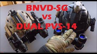 Review of Dual PVS-14's VS BNVD-SG