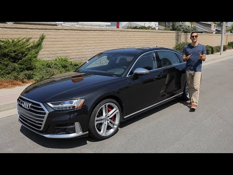 2020 Audi S8 Test Drive Video Review