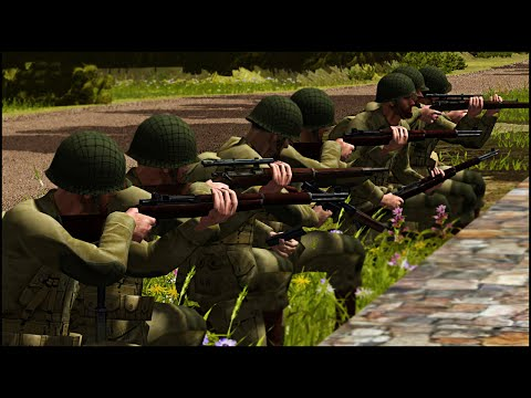 BAND OF BROTHERS – Combat Mission: Battle for Normandy Gameplay