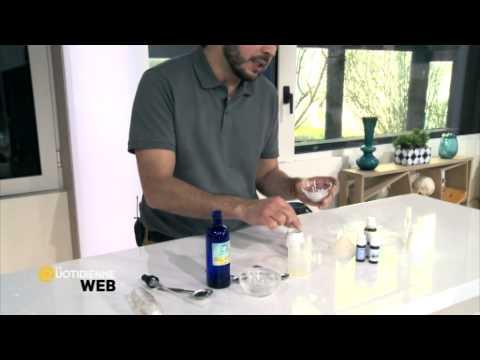 Le microorganisme végétal traiter par la crème fraîche