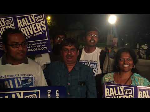Volunteer from Hyderabad shares for Rally for Rivers