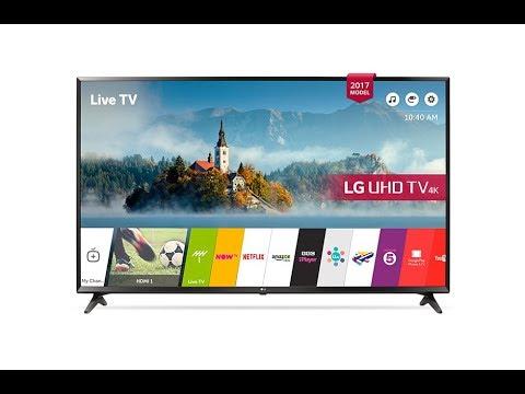 LG 55UJ630V 4K TV Unboxing