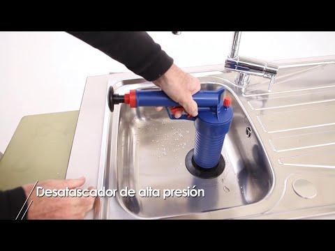 Desatascador de alta presión y otras alternativas para desatascar tuberías - Bricomanía