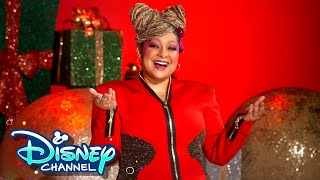Raven Symoné Covers What Christmas Means To Me 🎶| Holidays Unwrapped | Disney Channel