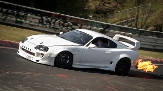 NÜRBURGRING GREATEST MOMENTS - BEST OF Highlights, Crashes, Drifts & Fails - Nordschleife