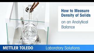 How to Measure Density of a Solid Sample on a Laboratory Balance