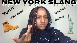 NEW YORK SLANG🤟🏼Issa joke don't get pressed 😙