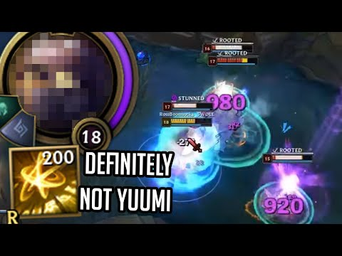 League of Legends but I am a Nuclear Missile (so not Yuumi basically)