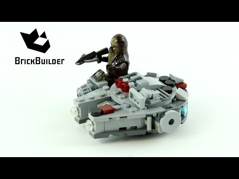 Vidéo LEGO Star Wars 75193 : Microfighter Faucon Millenium