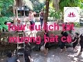 Mekong delta tours catching fish