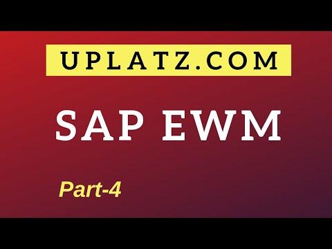 SAP EWM Training & Certification - part 4 | SAP Extended ...