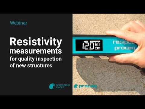 Proceq Resipod Concrete Resistivity Meter