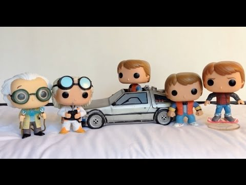 Back to the Future Funko Pop Review Collection