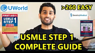 ULTIMATE USMLE STEP 1 STUDY PLAN 260 and BEYOND!