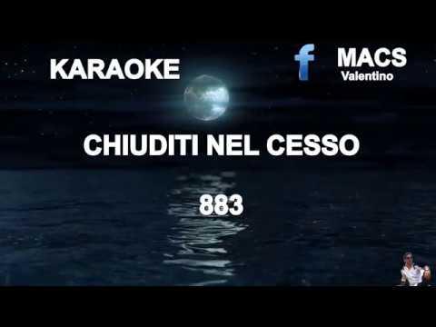 """, title : 'Chiuditi nel cesso """"883"""" Karaoke'"""