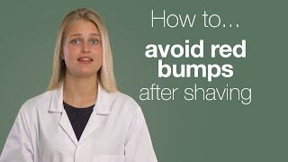 Shaving problems? How to get rid of red spots after shaving