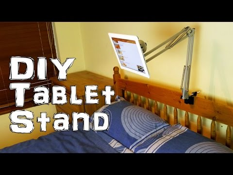 #ad Make a Tablet / iPad Stand