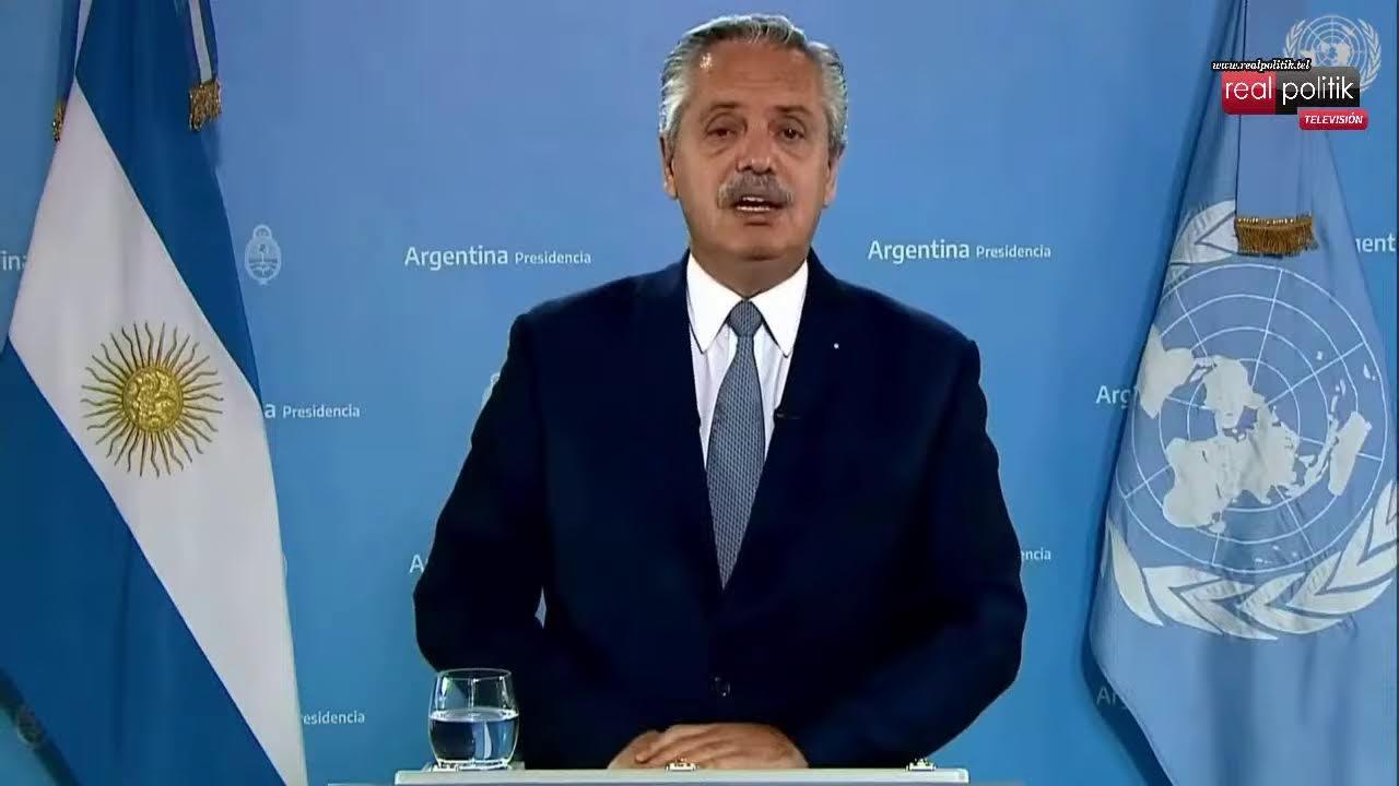 """Alberto Fernández en la ONU: Críticas hacia el FMI por la """"deuda tóxica"""" contraída en el macrismo"""