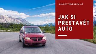 Příprava auta na roadtrip Kanada-Aljaška-USA