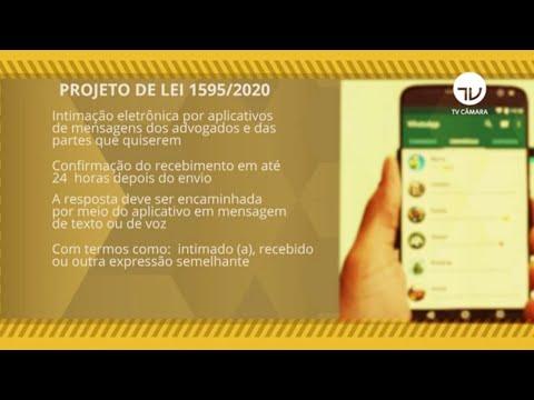 Intimação judicial por meio de aplicativos de mensagens pode virar lei - 02/07/21