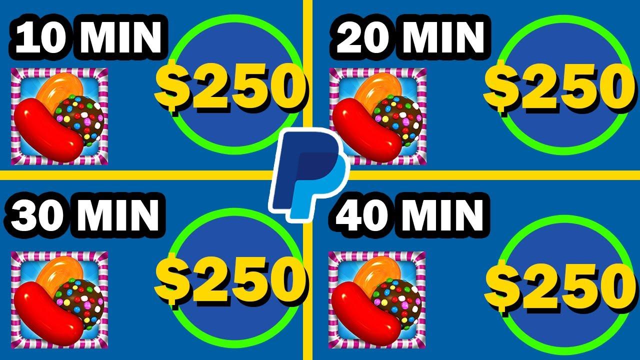 Earn $250 PayPal Money Playing Games   Make Money Online 2020 thumbnail