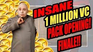INSANE 1 MILLION VC PACK OPENING FINALE!!! - NBA 2K16 MyTeam Pack Opening
