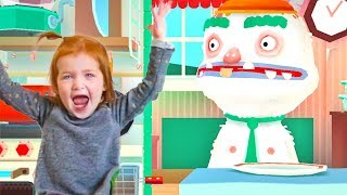 Adley App Reviews | Toca Kitchen 2 | feeding our friends